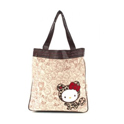 Hello Kitty Leopard Hug Me Tote