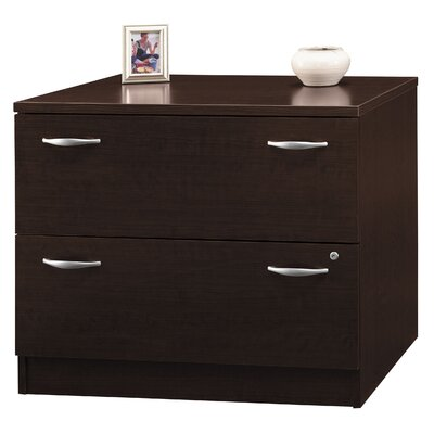 "Bush Industries Corsa Series- Mocha Cherry 35"" Lateral File (assembled)"