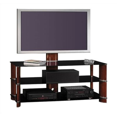 "Bush Industries Segments 57"" Swivel TV Stand"