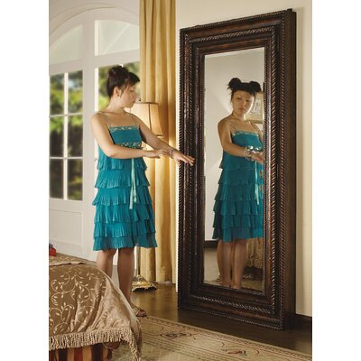 Seven Seas Floor Mirror with Hidden Jewelry Storage