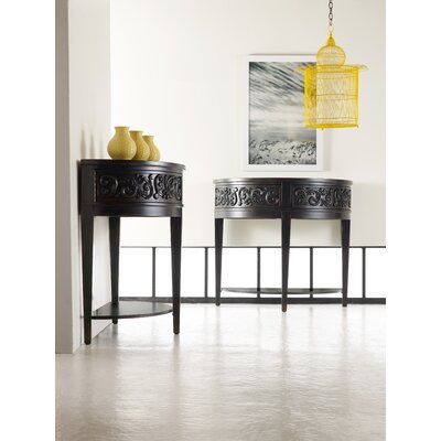 Hooker Furniture Melange Damasque Demi Console Table