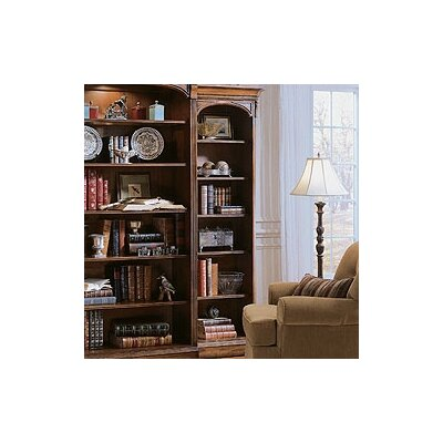 Hooker Furniture Brookhaven Right Hand Bookcase in Medium Clear Cherry