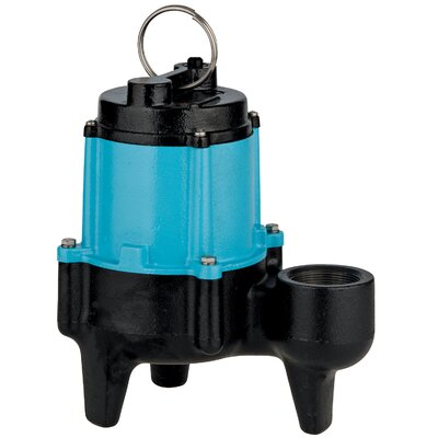 1/2 HP 10SN-CIM Manual Sewage Pump with 3