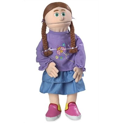 "Silly Puppets 30"" Amy Professional Puppet with Removable Legs in Peach"