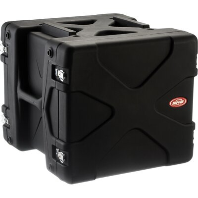 SKB Cases US Series 10U Roto Rack Case in Black