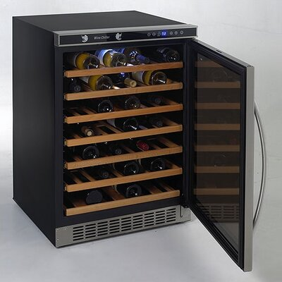 Avanti Products 54 Bottle Built-In Wine Refrigerator
