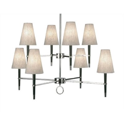 Robert Abbey Jonathan Adler Ventana 8 Light Chandelier