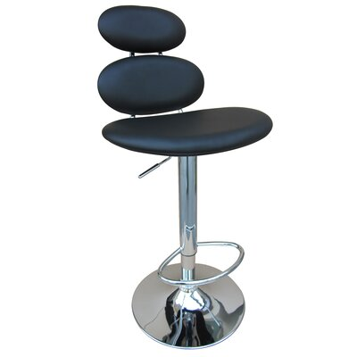 "Creative Images International 31"" Swivel Barstool with Gas Lift in Black"