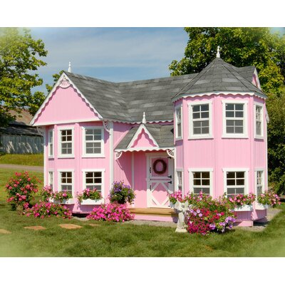 Little Cottage Company Sara's Victorian Mansion Kit with Floor