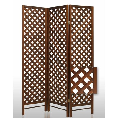 Screen Gems Trellis Wood Room Divider