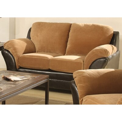 AC Pacific Mia Sleeper Sofa and Loveseat Set