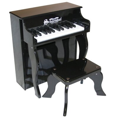 Schoenhut Elite Spinet Piano in Black