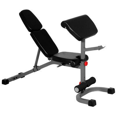X-Mark FID Weight Bench with Preacher Curl