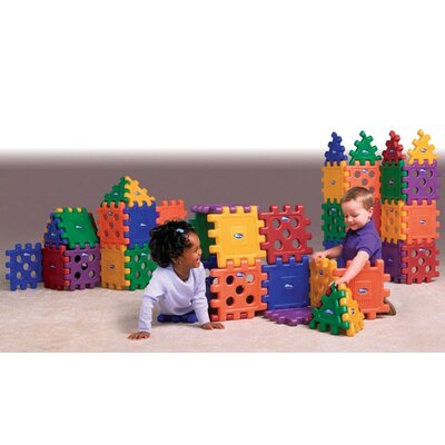 CarePlay Grid Blocks Building Set (Set of 48)