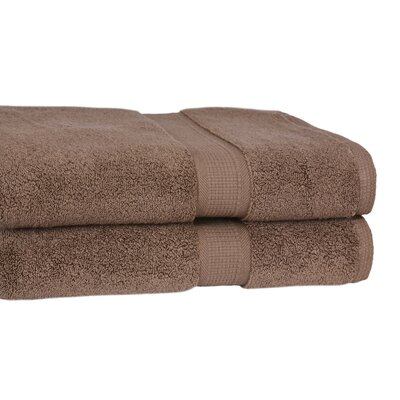 Calcot Ltd. 100% Supima Zero-Twist Cotton 2-Piece Oversized Bath Sheet/Towel Set