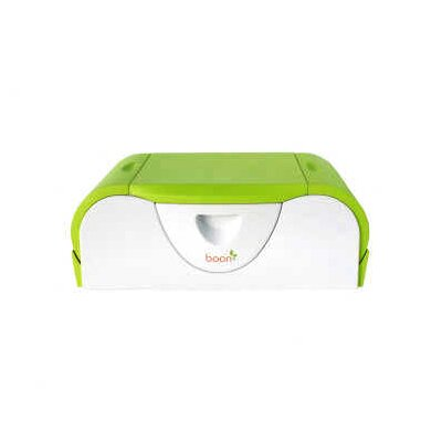 Boon Potty Bench Training Toilet in Green / White