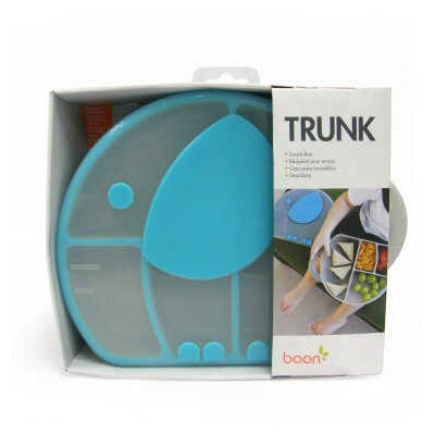 Boon Trunk Snack Box in Gray / Blue