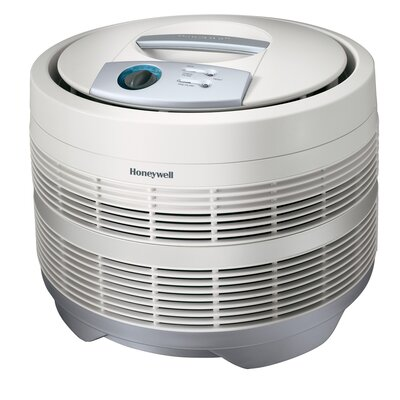 "Honeywell Air Purifier,3-Speeds,225 Sq Ft. Cap.,18""x18""x15-1/8"",White"