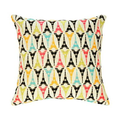 Tout Eiffel Tapestry Cotton Twill Pillow