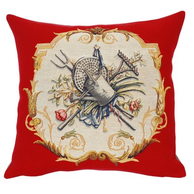 Jules Pansu French Tapestry Arrosoir Cotton Pillow