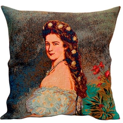 Jules Pansu French Tapestry Sissi Cotton Pillow