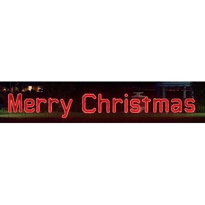 Holiday lighting wayfair for Large outdoor christmas signs