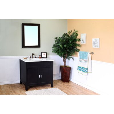 "Bellaterra Home Jameson 36"" Single Vanity Set"