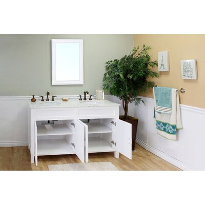 "Bellaterra Home Jameson 60"" Double Vanity Set"