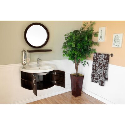 Bellaterra Home Huntington Round Mirror