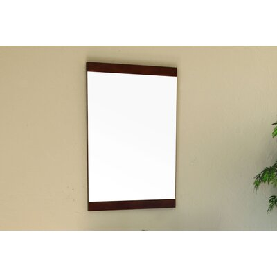 Bellaterra Home Bergman Mirror in Dark Walnut