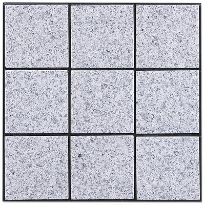 Kontiki SAMPLE - Interlocking Granite Tiles in Bright Gray