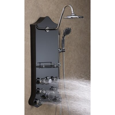 Jet Pro Shower Spas Royal Thermostatic Shower Panel Spa