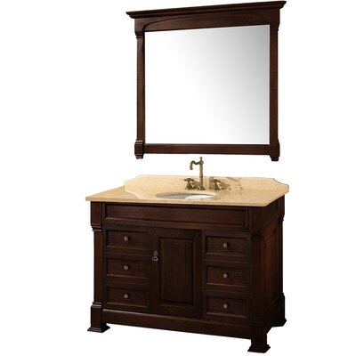 "Wyndham Collection Andover 48"" Bathroom Vanity Set"