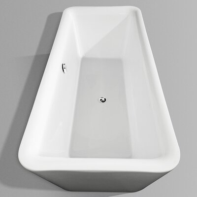 "Wyndham Collection Emily 69"" x 33"" Bathtub"