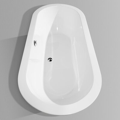 "Wyndham Collection Soho 68"" x 33"" Bathtub"