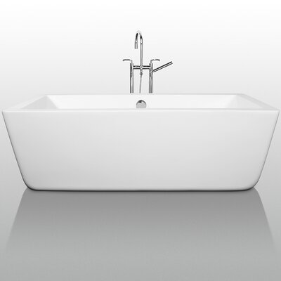 "Wyndham Collection Laura 67"" x 32"" Bathtub"