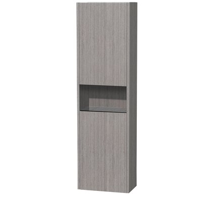 Wyndham Collection Diana Wall Mount Storage Cabinet