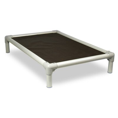 Kuranda USA Standard Elevated Chew-Proof Dog Bed in Almond