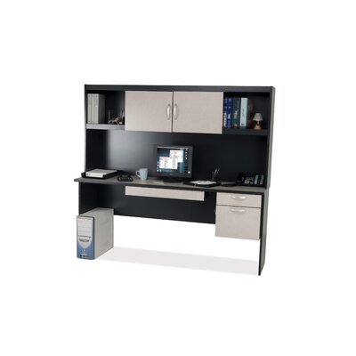 Bestar In Space Credenza with Hutch
