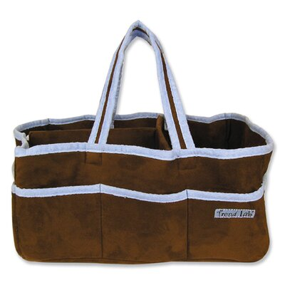 Trend Lab Storage Caddy in Brown and Blue