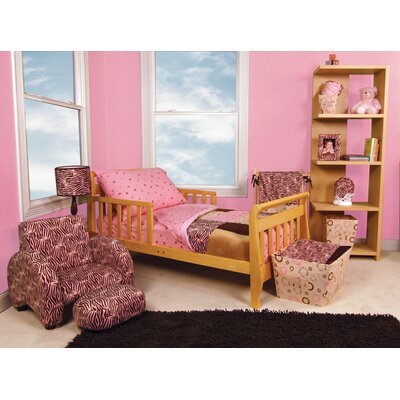 Sweet Safari Pink Toddler Bedding Collection