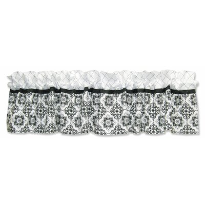 Trend Lab Versailles Window Valance in Black and White