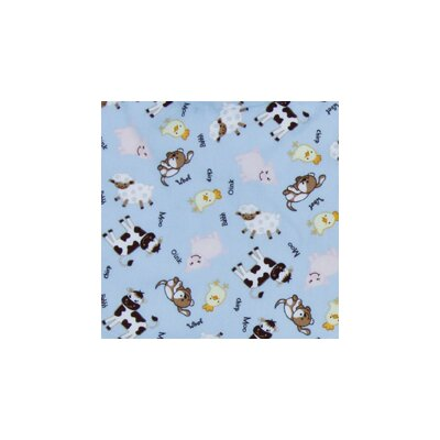 Baby Barnyard Crib Sheet