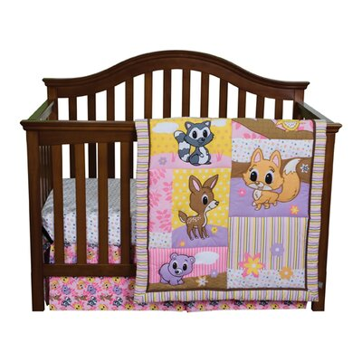Trend Lab Lola Fox and Friends Crib Bedding Collection