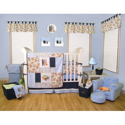 Trend Lab Surf's Up Crib Bedding Set