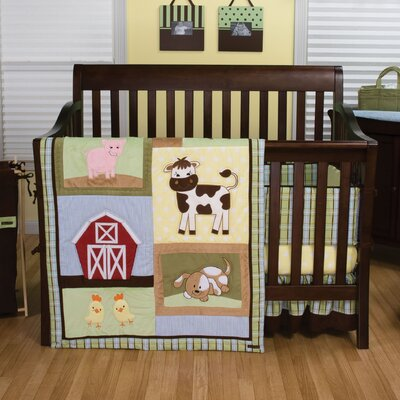 Baby Barnyard Crib Bedding Collection