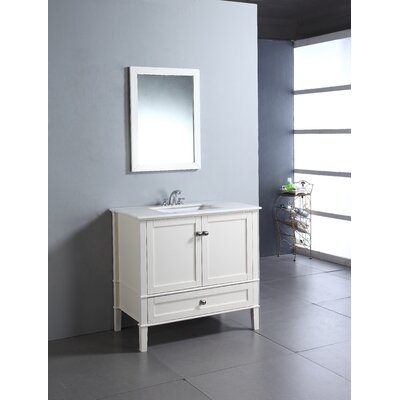 simpli home chelsea 36 bathroom vanity set