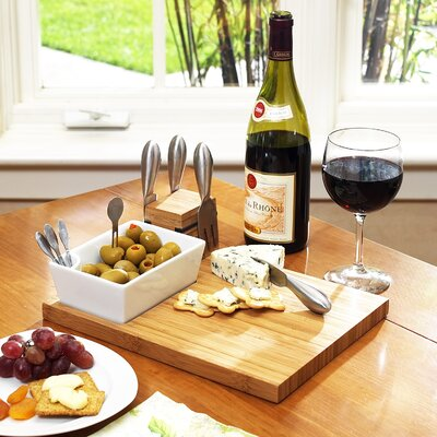 Buxton Cheese Board & Tools Set