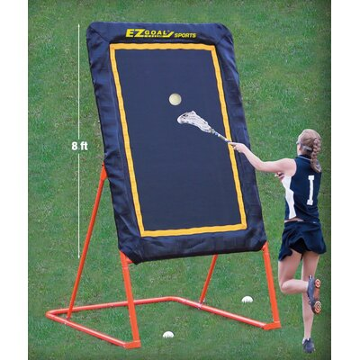"EZGoal 96"" Pro Folding Pitchback"