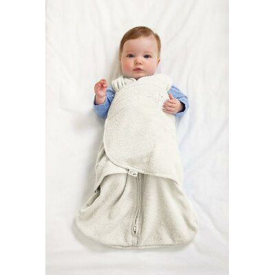 HALO Innovations, Inc. Microfleece SleepSack Swaddle in Cream (Small)